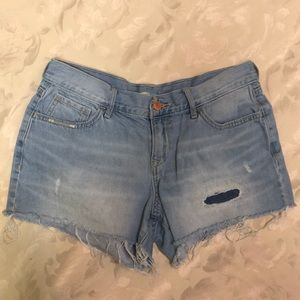 Old Navy distressed shorts size 2